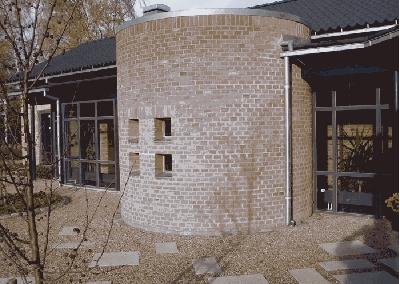 Peter Nielsen cirkulær mur